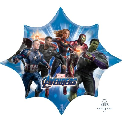Avengers folie ballon super shape 88 cm