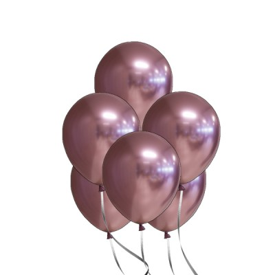 Helium Ballon Chrome Roségoud