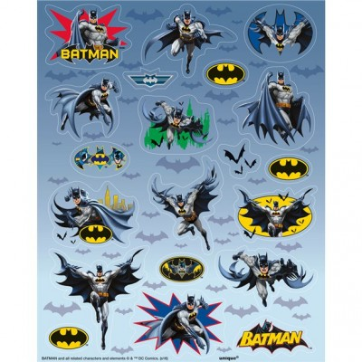 Batman hero stickervellen