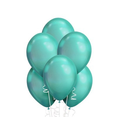 Helium Ballon Chrome Groen
