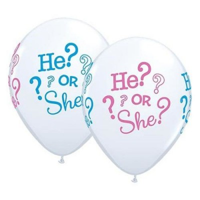 Helium Ballon He or She? 30 cm