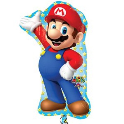 Super mario folie ballon super shape
