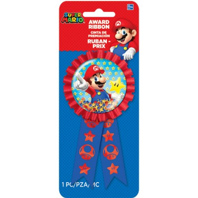 Super mario award ribbon