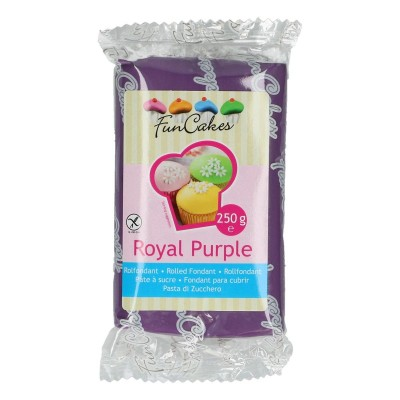 Funcakes fondant royal purple (250gr)