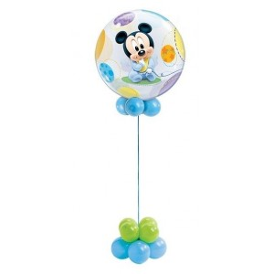Baby mickey mouse bubble ballon 56 cm