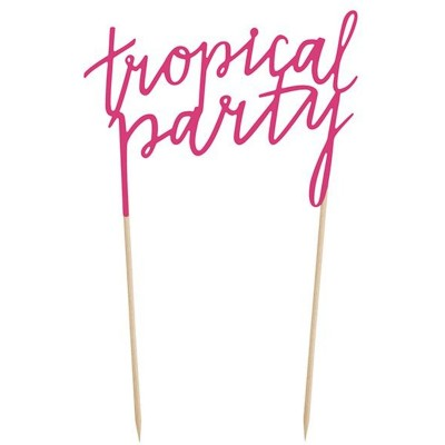 Taarttopper tropical party