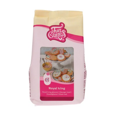 Funcakes mix voor royal icing (500gr)