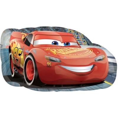 Cars folie ballon super shape 76 x 43 cm