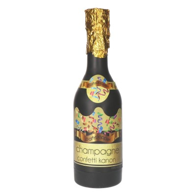 Party popper champagnefles