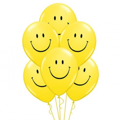 Helium Ballon Smiley