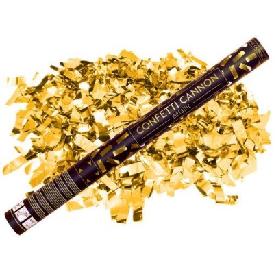 Party popper goud 60 cm
