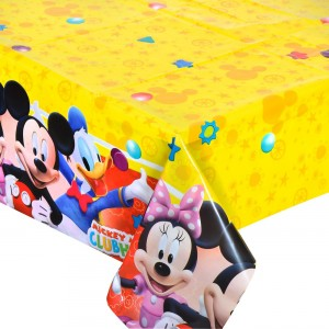Mickey mouse playful tafelkleed 120 x 180 cm