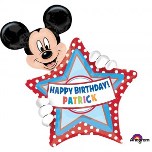 Mickey mouse folie ballon 60 x 76 cm