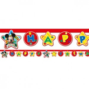 Mickey mouse playful letterslinger 210 cm