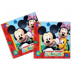 Mickey mouse playful servetten 20 stuks