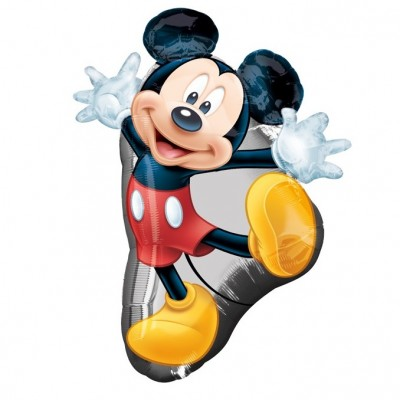 Mickey mouse folie ballon 55 x 78 cm