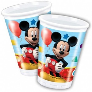 Mickey mouse playful bekers 8 stuks
