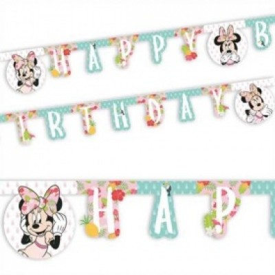 Minnie mouse tropical letterslinger 200 cm