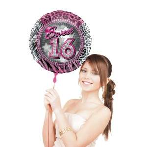 Sweet Sixteen Folie Ballon 45 cm