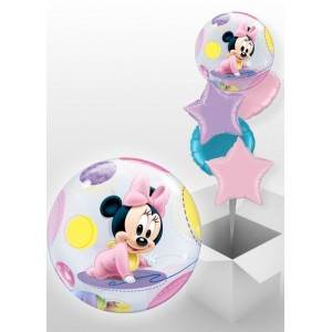 Baby minnie mouse bubble ballon 56 cm