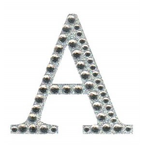Diamant letter sticker a