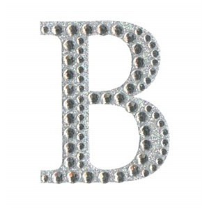 Diamant letter sticker b