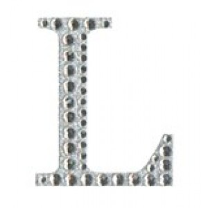 Diamant letter sticker l
