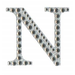 Diamant letter sticker n