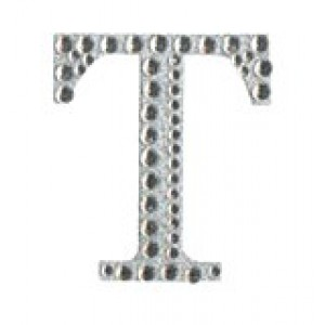 Diamant letter sticker t
