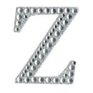 Diamant letter sticker z