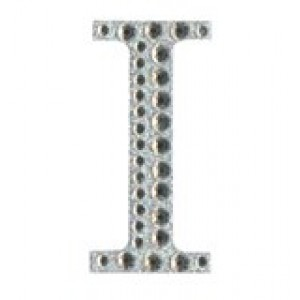 Diamant letter sticker i