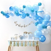 Ginger Ray balloon arch kit blauw