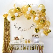 Ginger Ray balloon arch kit goud
