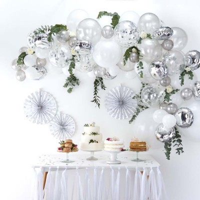 Ginger Ray Balloon arch kit zilver
