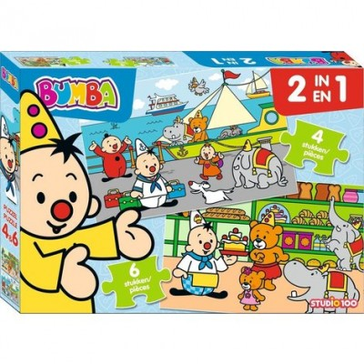Bumba 2 in 1 puzzel