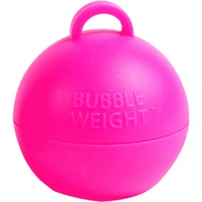 Bubble gewicht hot pink