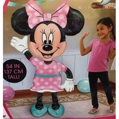 Minnie mouse folie ballon airwalker