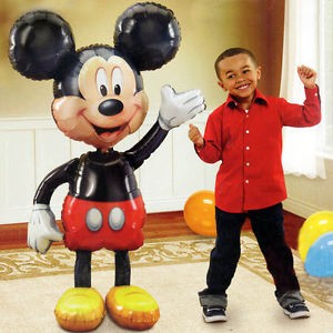 Mickey mouse folie ballon airwalker