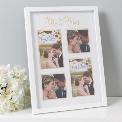 Always & Forever - fotolijst mr & mrs mdf