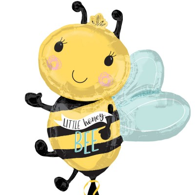Helium Ballon Little Honey B ee 63 x 76 cm
