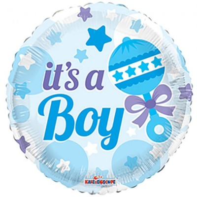 Helium Ballon It's a Boy 46 cm