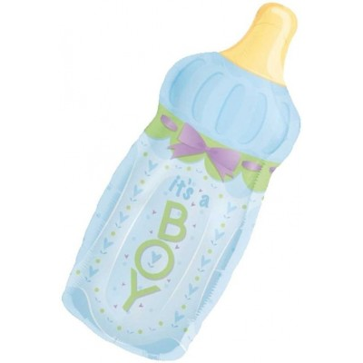 Helium Ballon Fles It's a boy 79 x 33 cm