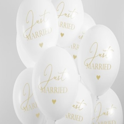 Helium Ballon Just Married