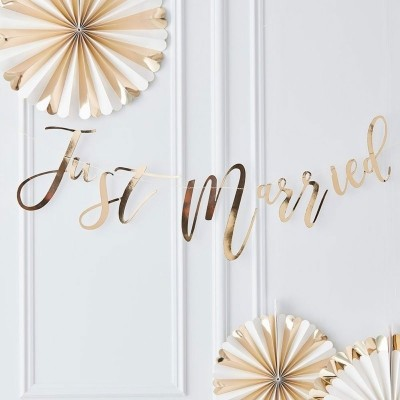 Just married letterslinger 150 cm