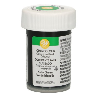 Wilton icing color kelly green 28 gram