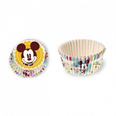 Mickey mouse cupcakes cups 60 stuks