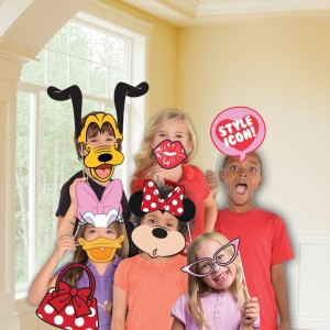Minnie mouse photo booth 10 delig
