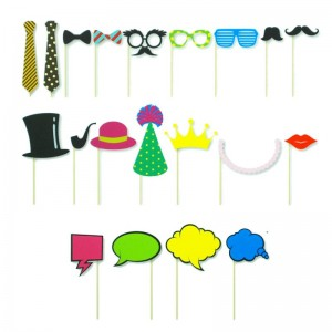 Photobooth props xl 20 stuks