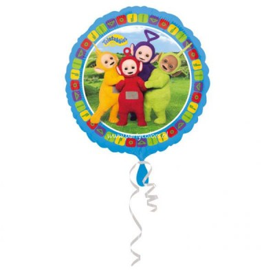Teletubbies folie ballon metallic 45 cm