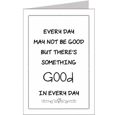 Wenskaart good every day